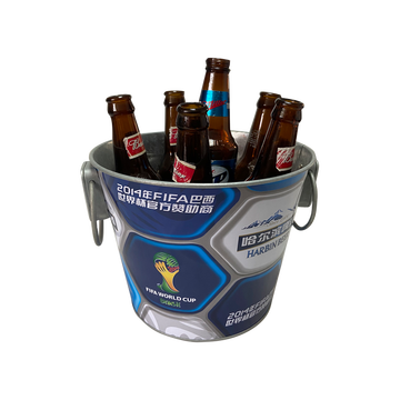 Beer bucket with decorative handles