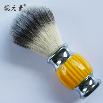 Shaving Cup And Brush With Handle