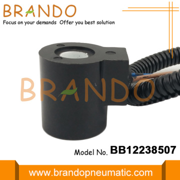 Construction Machinery Parts Solenoid Coil With Small Plug