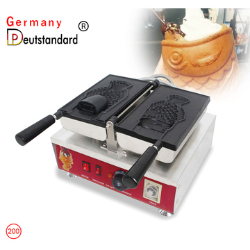 big mouth fish shape waffle maker taiyaki machine with CE NP-200