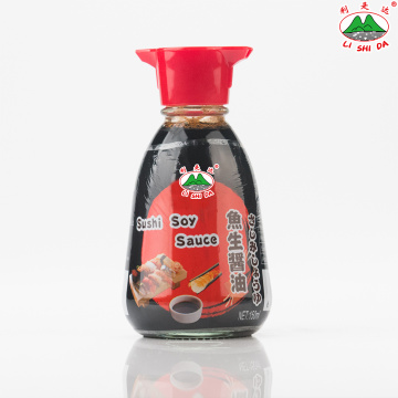 Sashimi Soy Sauce 150ml Glass Table Bottle