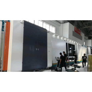 Insulating glass silicone sealant spreading machine