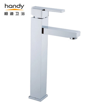 Bathroom High Neck Washing Faucet