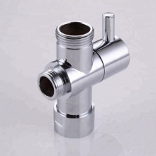 Plastic ABS Handle Angle Valve For Toilet