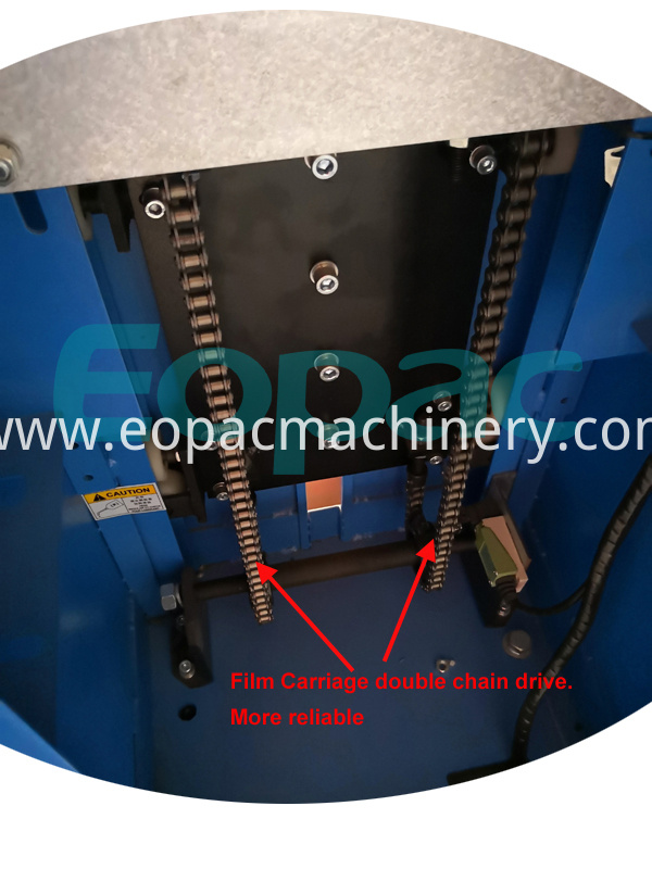 Hot Pallet Packing Machine Pallet Wrapper