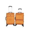 3 pieces new design lightweight soft trolley luggage