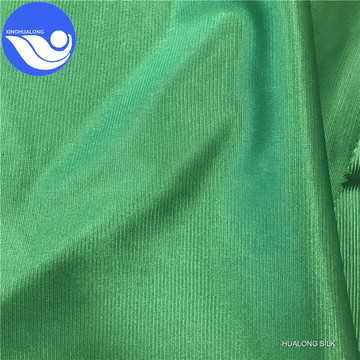 100 polyester tricot plain fabric mercerized cloth