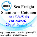 Shantou Shipping Forwarder sea freight to Cotonou