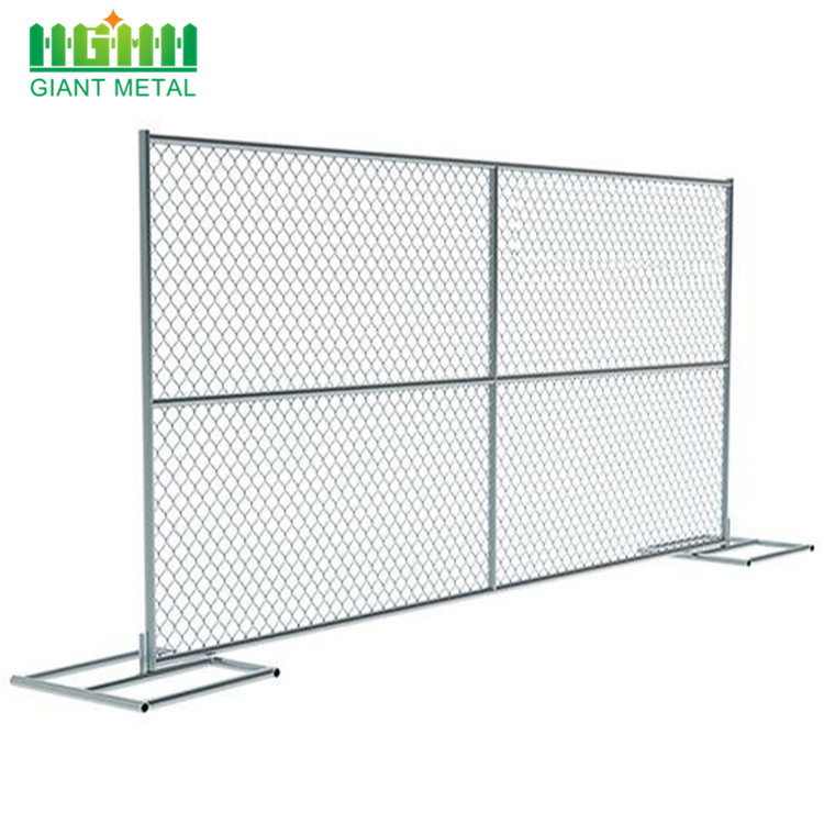 welded mesh hot dipped galvanized temporary fence
