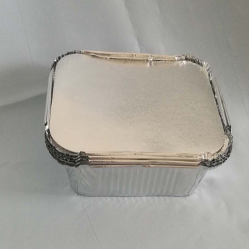 Hot Selling Rectangle Aluminium Foil With Lid