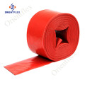 6 inch red water pumps layflat hose pipe