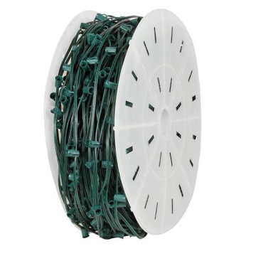500ft C9 Light Spool SPT-2 Green Wire