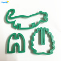 Plastic 3D Animal Lion Cookie Biscuit Cutter