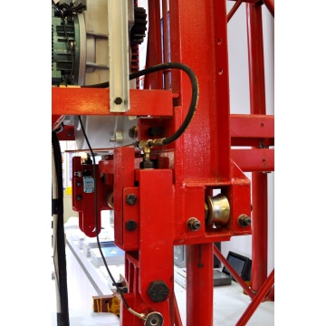Improve working efficiency building hoist