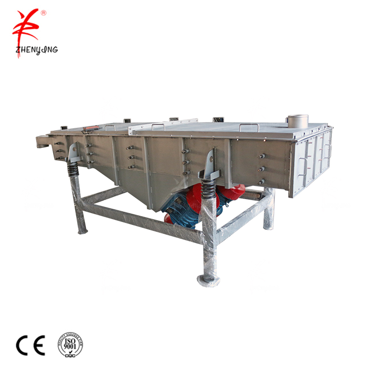 Dolomite powder linear vibrating screen separator machine