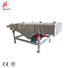 Food grade coffee linear vibrating screen machine