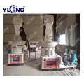 Waste pine wood pellet press granulator mill