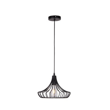 black iron modern  hanging lamp