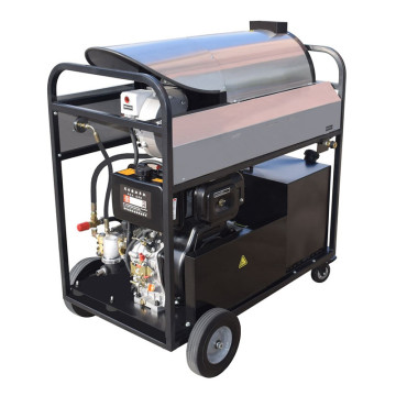 Outdoor Use Diesel heating Steam High Pressure Washer