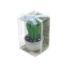Flickering Flame Candle Cactus Candle for Decoration
