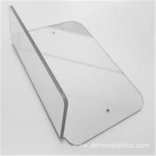 PC hard coated clear solid polycarbonate windshield sheets