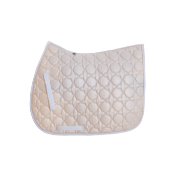High Quality Satin Jumping Quilted Saddle Pad