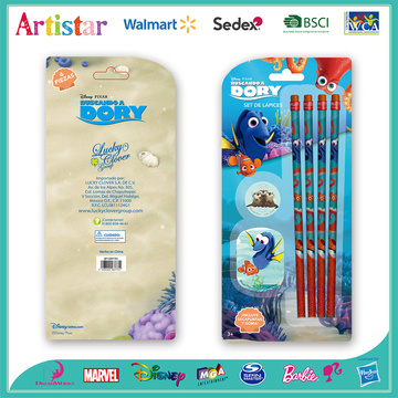 Dory pencil blister card