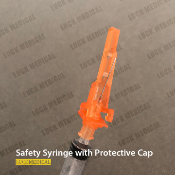 Safety Lock Syringe Safety Infection