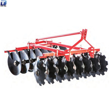 Farm disc harrow soil cultivating machine