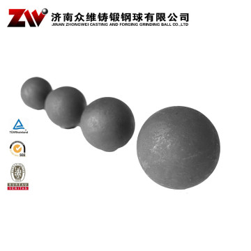 Forged Ball Mill Grinding Media For Cement 130mm