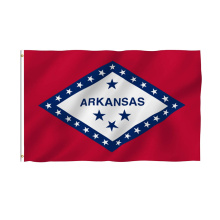 New Design Breeze Arkansas State Polyester Flag
