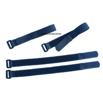 Flexible Elastic Hook and Loop Band with Buckle