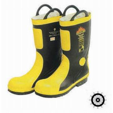 Marine Fire-fighting rubber boots