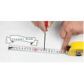 3mx16mm Yellow ABS case measuring tape