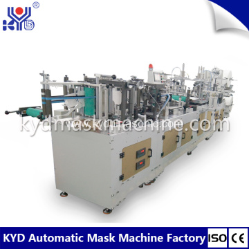 Automatic Nonwoven C-Type Folding Mask Making Machine