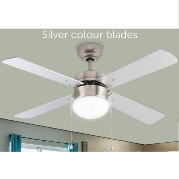 Ultra Stable Nautical LED Flush Mount Ceiling Fan with Light for Office