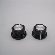 10pcs MF-A01 bakelite potentiometer potentiometer knob cap diameter 19.5MM copper core inner hole 6mm