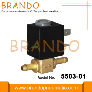Household Appliance Brass Quick Plug Gas Solenoid Valve