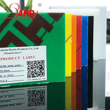 Customized Size For High Density Polyethylene HDPE Sheet