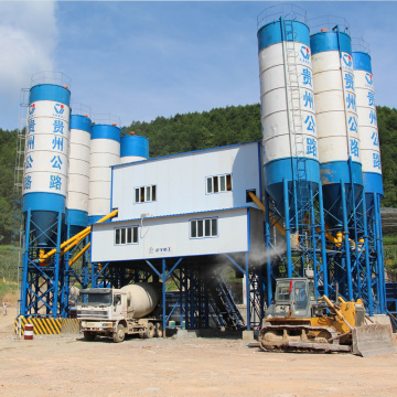 HZS180 belt conveyor iran concrete batching plant