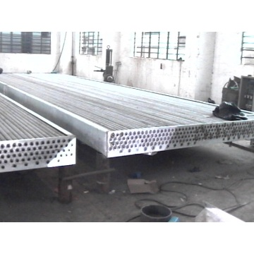 Water Pipe Fin Copper Tube Heat Exchanger