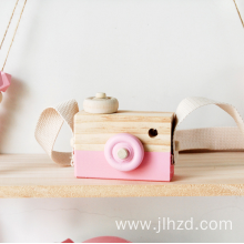 Wooden Camera Toy Cute Photo Props