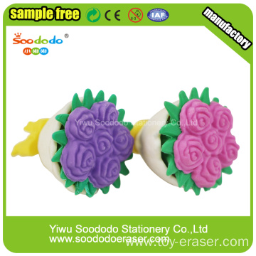 Purple Flower  Collectable erasers ,art eraser