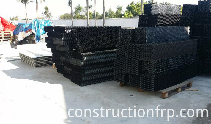 Cooling Tower PVC S Wave