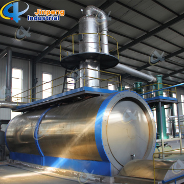 Waste Engine Oil Process Machine Distillation Plant