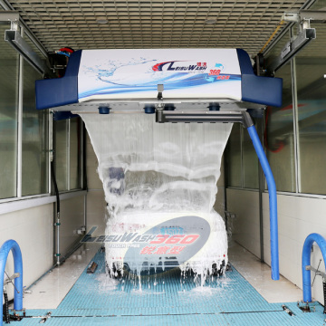 Leisure car wash automatic touchless car wash machine