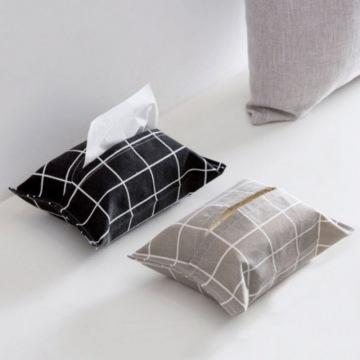 Car Cotton And Linen Cloth Tissue Bag Home Garden Home Storage Organization Bags