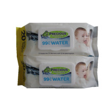 Baby Wet Water Wipes with Plastic Lid
