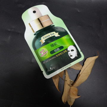Press-side design packaging bag for facial mask