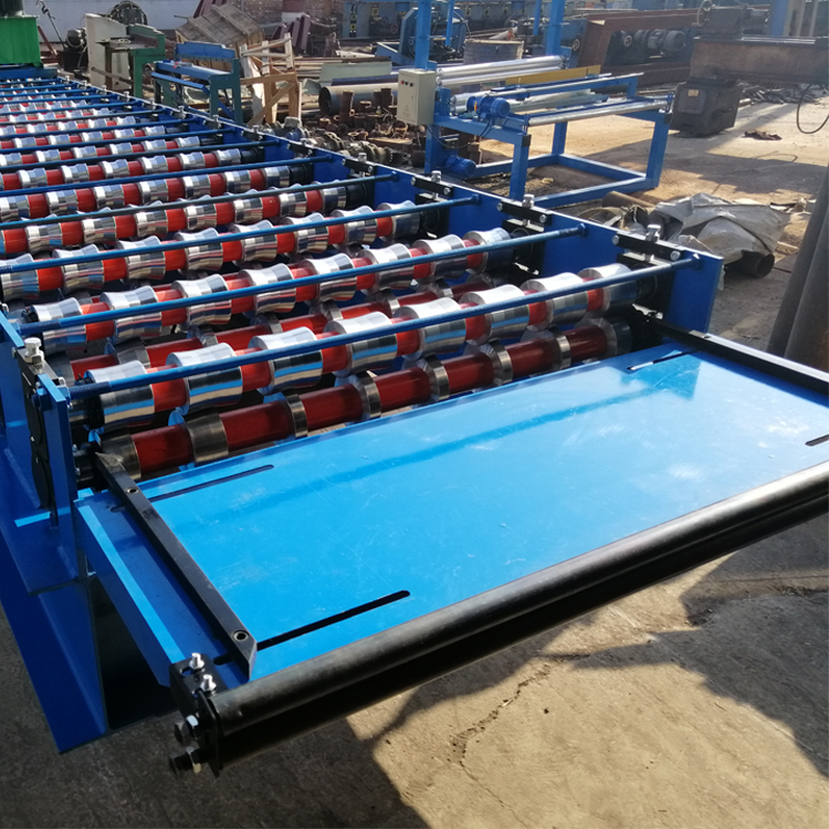 steel building forming machine